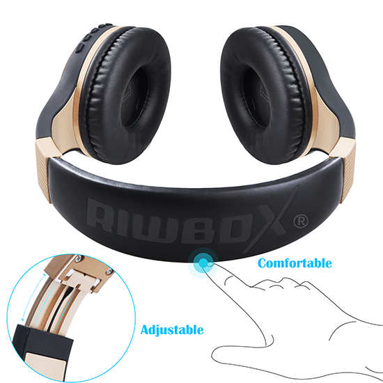 black gold headphones for boys
