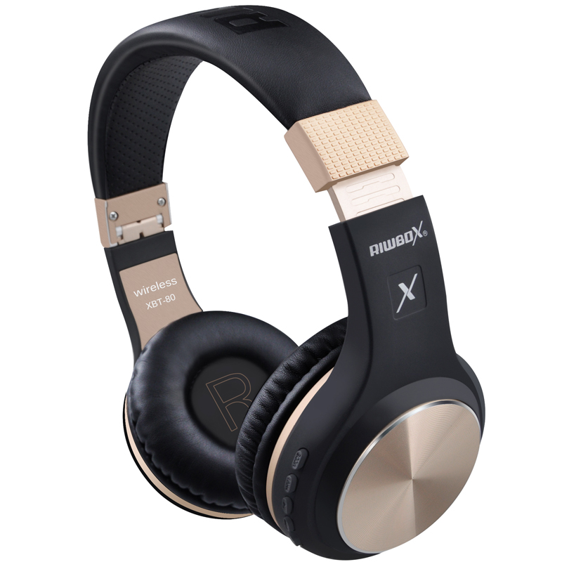 Riwbox XBT-80 Wireless Lighthigh Headphones