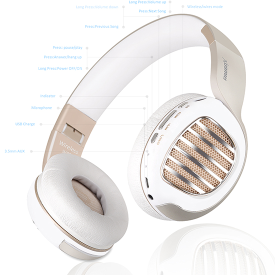 headphones with voulme control