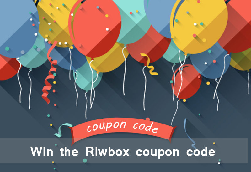 win the Riwbox coupon code